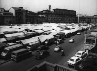 Piazza Mercatale anni '70