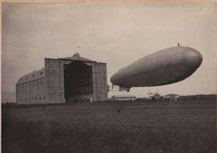 La prima uscita del dirigibile M6- 12/05/1916- archivio Orsi