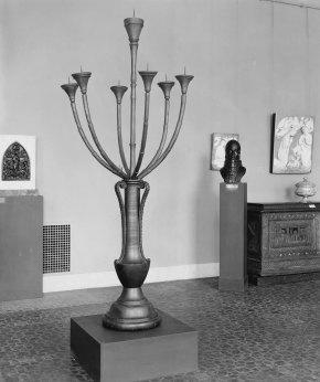 Maso di Bartolomeo, modello in legno per il candelabro del duomo di Prato (foto del MFA di Boston)