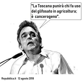 Enrico Rossi glifosato