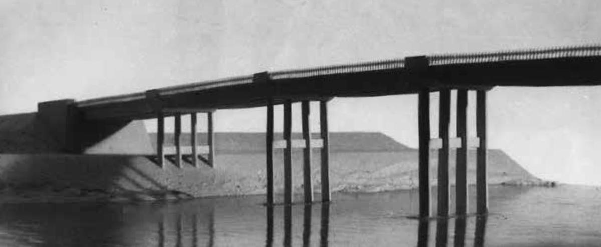 Il ponte tra San Donnino e Badia a Settimo